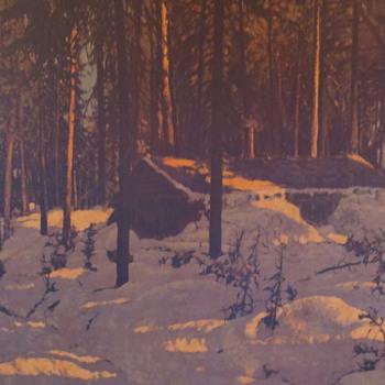 An old winter scene - Photographs