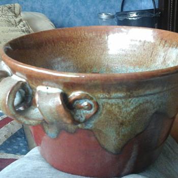 studio stoneware pot - Pottery