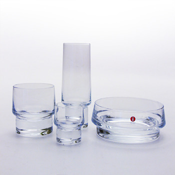 KLUBI barware, Harri Koskinen (Iittala, 1999) - Art Glass