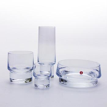 KLUBI barware, Harri Koskinen (Iittala, 1999) - Art Glass