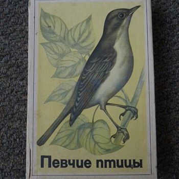 Soviet Union box of matchboxes.  - Tobacciana