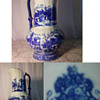 Cobalt/Glazed Pitcher