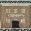 Square Silkwork Sampler Eliza Caitle Royal Hotel Bath UK Dated 1834