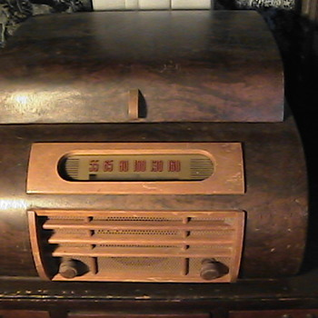 Electromatic 512 Turntable 1946 Bentwood Cabinet
