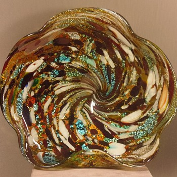 Murano - Ashtray/Bowl - End of Days - Art Glass