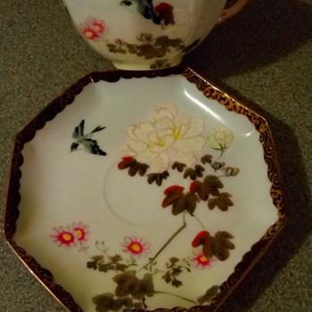 Eggshell cup & saucer - China and Dinnerware