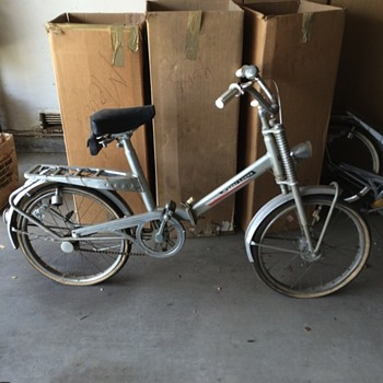 Vintage Mertens Super de Luxe Bicycle