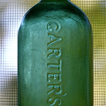 === Carter's Ink === - Bottles