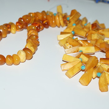 Plastic Necklace - What Was I Thinking?! - Costume Jewelry