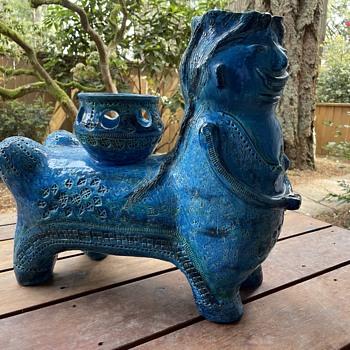 Pottery vase creature Raymor Bitossi?   - Mid-Century Modern