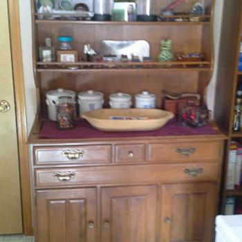 Temple Stewart Hutch inherited from my Grandma - Furniture