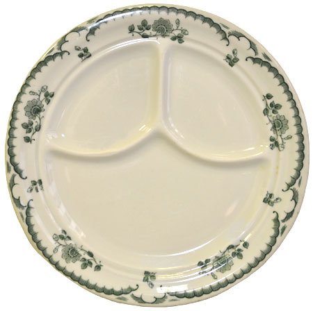 sc 1 st  Collectors Weekly & A gorgeous ided dinner plate | Collectors Weekly