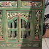 Antique peranakan window