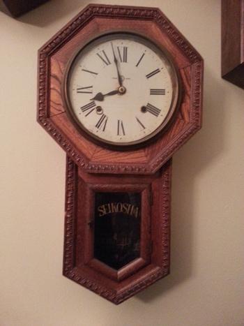Japanese Seikosha Wall Clock Collectors Weekly
