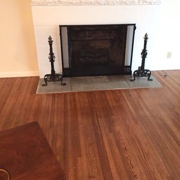 Wrought Iron Andirons - Furniture