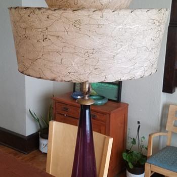 Mid century Marbro Amethyst lamp - Lamps