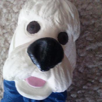 chalk  dog - Animals