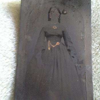 Civil War Photo (and sentimental inscription) - Photographs