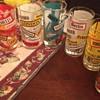 RARE COCA COLA DRINKING GLASSES VINTAGE