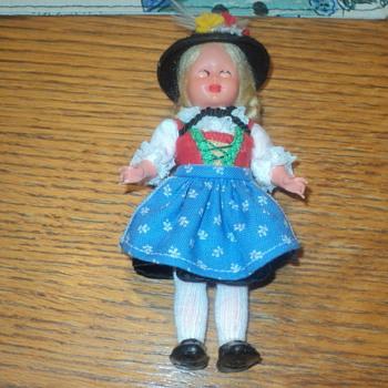 """Wilten German Doll 5 1/2 """"  - Dolls"""