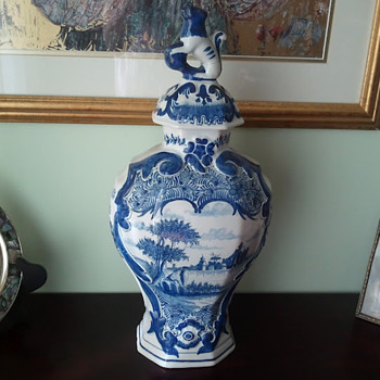 Thrift Store Find Ducth Delft - Pottery