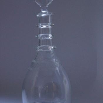 Edwardian Decanter - Art Glass