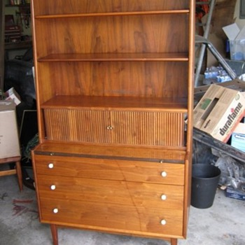 "Walnut Drexel ""Declaration"" Secretary from 1959 - Mid-Century Modern"
