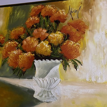 Large oil painting by who? - Fine Art