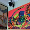 Fantastic Four Blacklight and RAW Posters with Comics