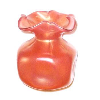 Loetz Pink Vase. - Art Glass