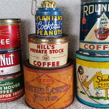 my favorite tins - Advertising