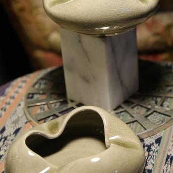 Thai Celadon Bowls or Ashtrays?