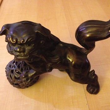 Japanese Foo Dog or Guardian Dog - Asian