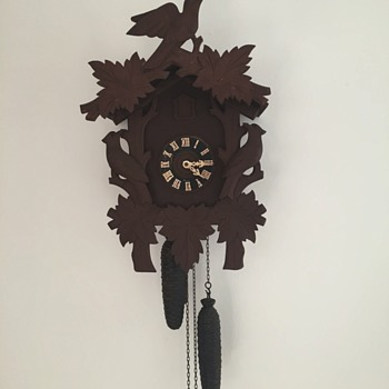 newly purchased antique cuckoo clock - Clocks