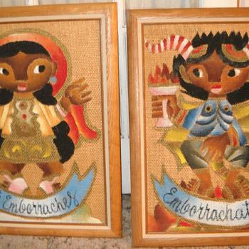 Jose Maria De Servin Paintings on Burlap