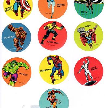 Marvel Super Hero's Sticker Set PDQ