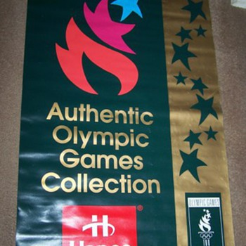 Hanes 1996 authentic Olympic collection banner  - Sporting Goods
