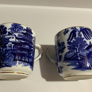 Two small cups  - China and Dinnerware