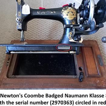 Vintage Sewing Machine Serial Number Location Help - Sewing