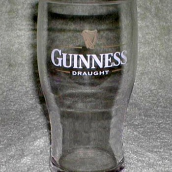 """Guinness"" Beer Glass"