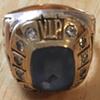Rare Antique Gillette Company Gold Diamond Ring ( V.I.P. salesmans )