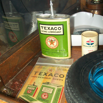 New Old Stock Texaco Handy oil - Petroliana
