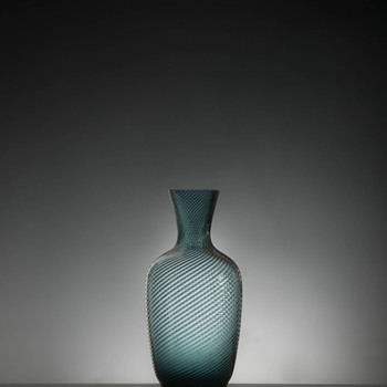 Turbinglas Carafe and Glasses probably by Lennart Andersson
