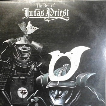 """ The Best Of "" Judas Priest  - Records"