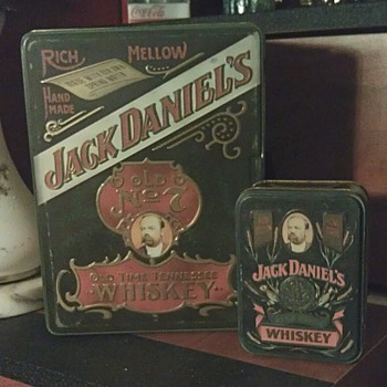 Jack Daniels Tin Box