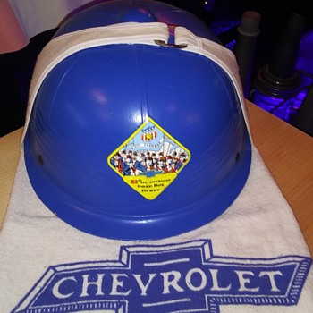 New Old Stock Chevrolet Soap box derby helmet - Classic Cars