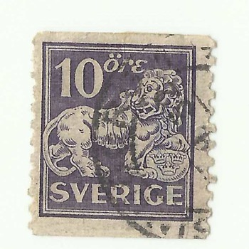 OLD SWEDEN POSTAGE STAMPS