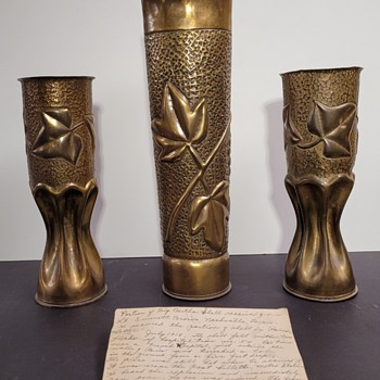 WWI Trench Art Owned by Dr. Goodsell - PART 1 - Military and Wartime