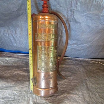 Antique Fire Extinguishers - Badger & Insurance  - Firefighting