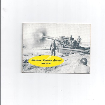 ABERDEEN PROVING GROUND MARYLAND - Military and Wartime